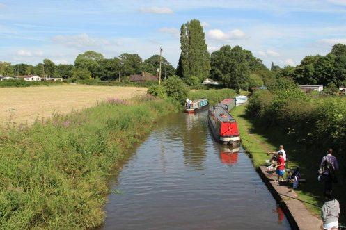 Trent and Mersey Canal, from Ryan's Bridge, Bartington