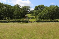 American Bar Association Memorial to Magna Carta, from meadows, Runnymede