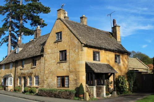 Cottages, Broadway, Cotswolds
