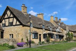 Elizabethan Cottages, Broadway, Cotswolds