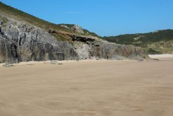 Eastern end of Oxwich Bay, Gower