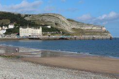 Great Orme, from North Shore Beach, Llandudno