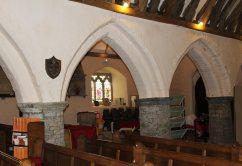 Interior, St. Sannan's Church, Bedwellty