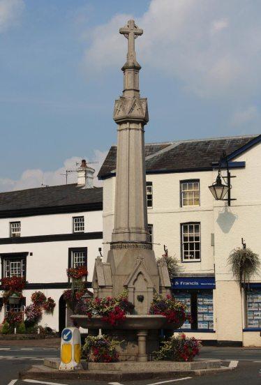 Lucas Memorial Fountain, Crickhowell