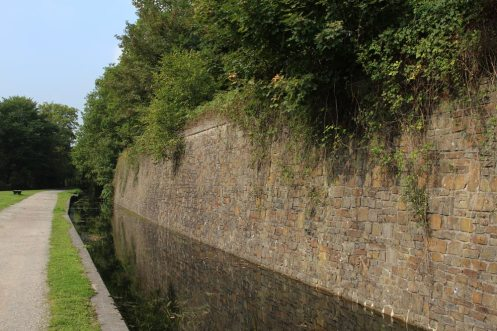 Neath Canal, near Resolven Lock