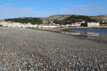 North Shore Beach, Llandudno