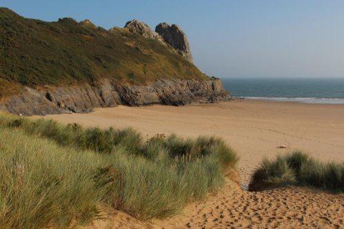 Sand dunes, Tor Bay, Gower