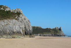 Tor Bay, from Oxwich Bay, Gower