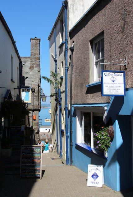 Caldey Island gift shop, Quay Hill, Tenby