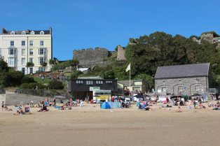 Castle Sands, Tenby