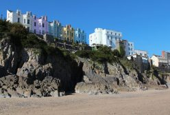 Esplanade, from South Beach, Tenby