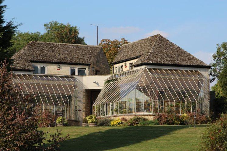 Garden bedrooms, Old Swan & Minster Mill Hotel, Minster Lovell