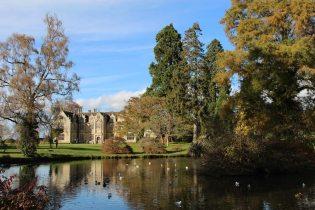 Mansion Pond and Wakehurst Place Mansion, Wakehurst Place, Ardingly