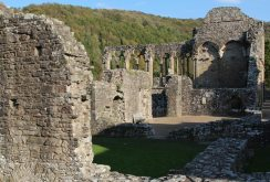 Monks' Refectory and Kitchen, Tintern Abbey, Tintern