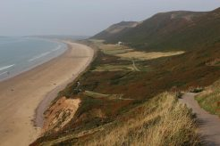 Path to beach, Rhossili Bay, Rhossili