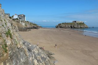 South Beach and St. Catherine's Island, Tenby