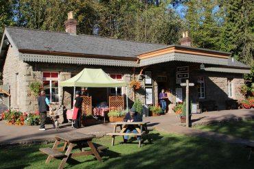 Tea Room, The Old Station, Tintern