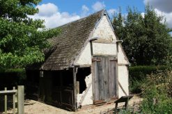 The Blacksmith's Forge, Sulgrave Manor, home of George Washington's ancestors, Sulgrave
