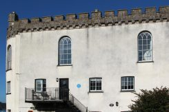 The Cabin, where Roald Dahl stayed, Pier Hill, Tenby