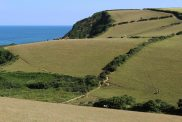 Coast path from Pentewan to Mevagissey