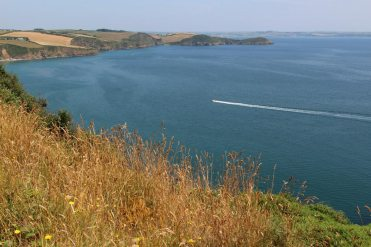 Coast path to Pentewan, from Mevagissey
