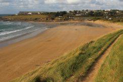 Daymer Bay, from coast path, Brea Hill, Rock