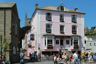 King of Prussia Hotel, Town Quay, Fowey