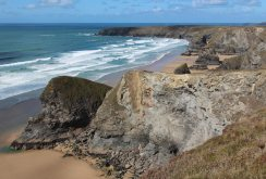 Pendarves Island and Bedruthan Steps