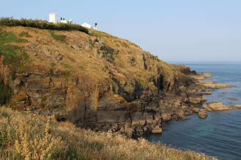Polbream Cove and Lizard Lighthouse, Lizard Point