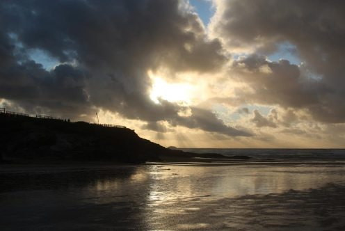 Sunset, Polzeath