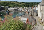 The Cliff, overlooking The Harbour, Mevagissey