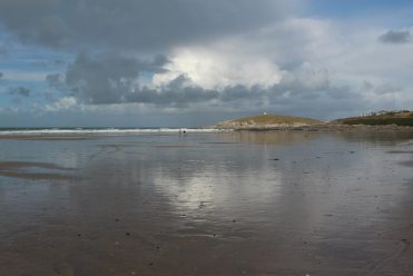 Towan Head, from Fistral Beach, Newquay