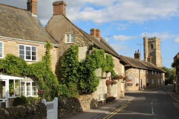 Market Street and Church Street, Abbotsbury