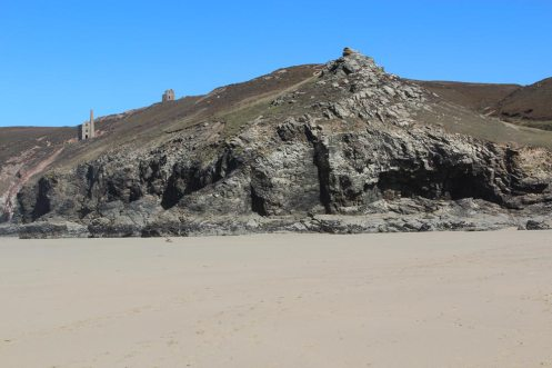 Cliffs, Chapel Porth