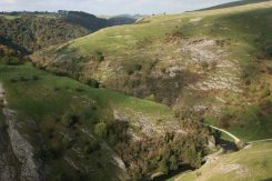 Dovedale, from Thorpe Cloud