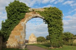 Gable End through Abbey Gateway, Abbotsbury Abbey, Abbotsbury