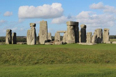 Stonehenge, from the South Bank