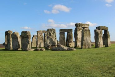 Stonehenge, from the South West