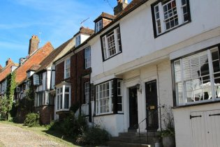 The House With Two Front Doors, Mermaid Street, Rye