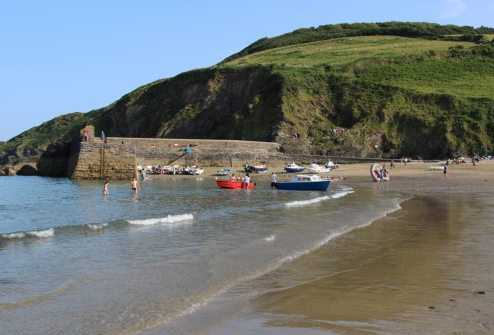 The Quay and beach, Gorran Haven