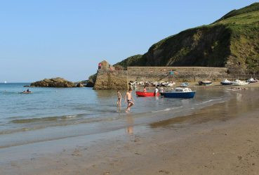 The Quay and Cadycrowse Rock, Gorran Haven