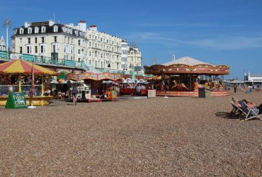Amusements and rides, beach, Brighton
