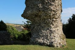 Base of Gatehouse Tower, Bramber Castle, Bramber