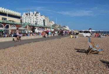 Beach and Lower Promenade, Brighton