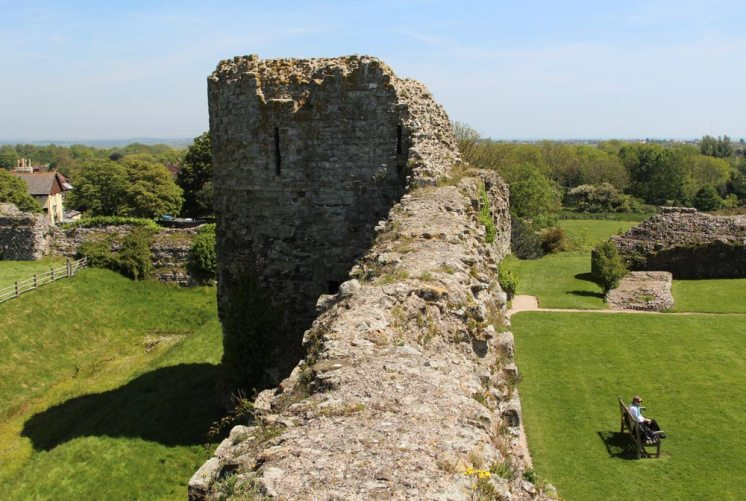 East Tower, Pevensey Castle, Pevensey