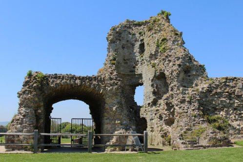 Gatehouse, Inner Bailey, Pevensey Castle, Pevensey