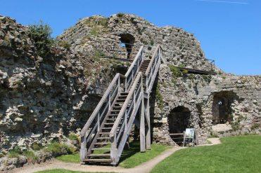 North Tower, Inner Bailey, Pevensey Castle, Pevensey