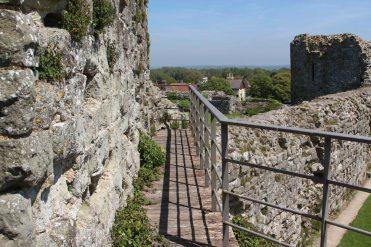North Tower, Pevensey Castle, Pevensey