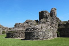 The Keep, Inner Bailey, Pevensey Castle, Pevensey