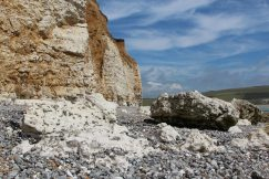 Beach, between Hope Gap and Cuckmere Haven
